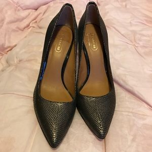 Coach High Heels size 5.5B